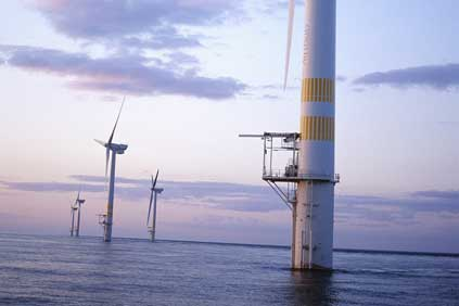 GE's last offshore development was the Arklow Bank wind farm in the Irish Sea using 3.6MW turbines