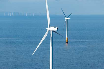 Sheringham Shoal uses Siemens 3.6MW turbines