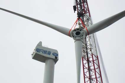 CSIC's 5MW turbine has 75-metre blades developed by LM