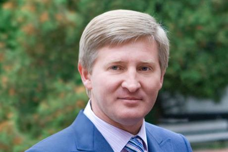 DTEK owner Rinat Achmetov... ranked by Forbes as the 39th richest man in the world