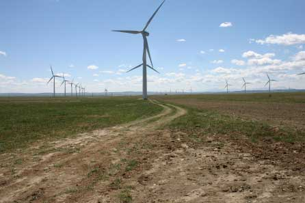 Vision Quest Windelectric's Summerview Wind Power Project in southern Alberta