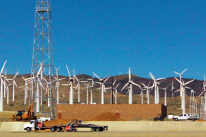 Windhub - one of California&#39;s largest substations