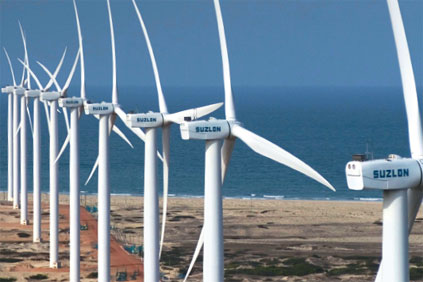 Suzlon turbines in Brazil - the biggest LA wind market