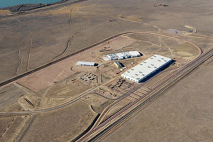 Vestas tower manufacturing plant at Pueblo, Colorado