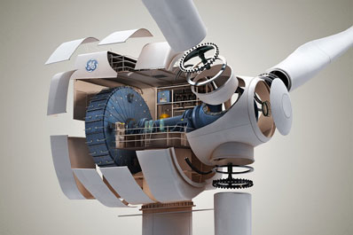 The GE 4.1-113 turbine, is GE&#39;s first offshore turbine since the early 2000s