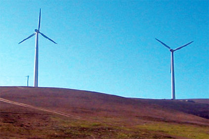 Wind power facilities in Dobrogea, Romaina&#39;s wind power hot spot