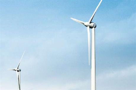 The Vensys 1.5MW turbine will be used on the project
