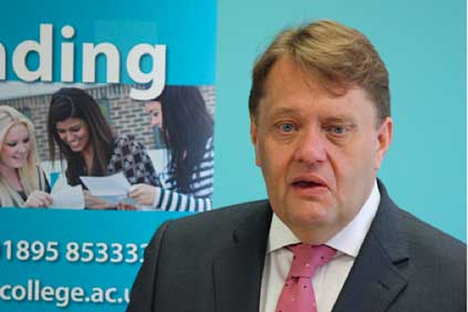 UK energy minister John Hayes