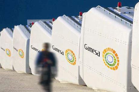 Gamesa is positive despite a fall in sales