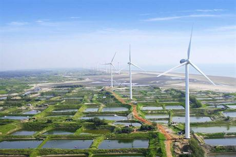 The 1.5MW turbine is still Ming Yang's best selling model
