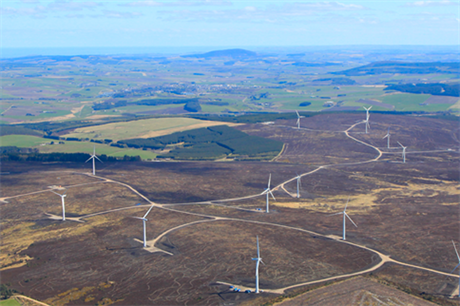 RES's portfolio includes the 48MW Hill of Towie project in Scotland