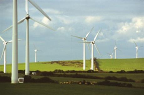 The turbines on the Anglesey wind farm are set to be replaced