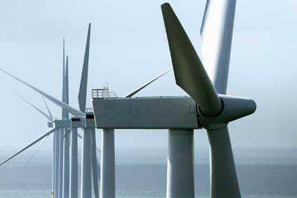 Siemens' 3.6MW turbine is usually used offshore