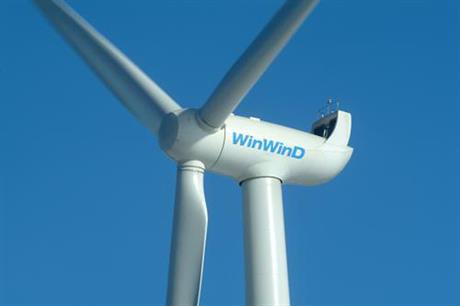 WinWind entered administration last year and is not servicing turbines