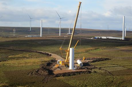 The wind farm has been operational since January