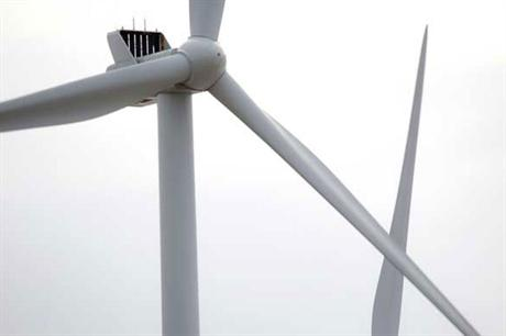 The new turbine is based on the V112-3MW model