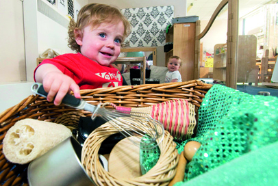 Learning & Development: Treasure baskets & heuristic play - First choice