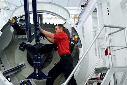 Flexible working...Acciona sources 77% of supplies locally for Iowa plant