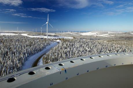 Solid… Canada has around 7GW of wind projects in the pipeline (photo:Johan Sullivan/GWEC)