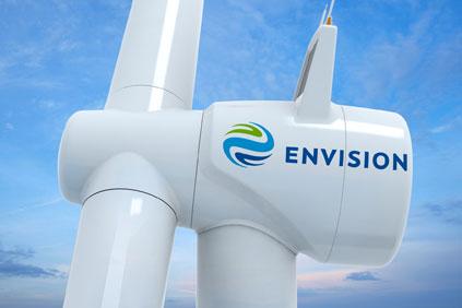 Envisions E128 3.6MW turbine concept