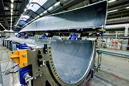 The LM 73.5-metre blade mould