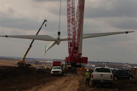 The investment tax credit benefits small community wind projects