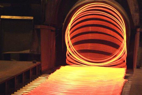 Steel production: Relief on levy payments was originally devised for certain energy-intensive industries (Photo: Stahl-Zentrum)