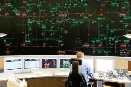 Ground control: The Brauweiler main switching station collects and manages wind power