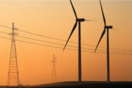 Vestas V90 3MW turbines in California: giant turbines reduce operating costs