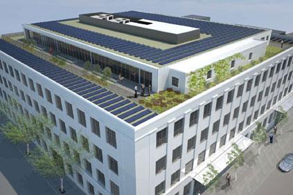 Vestas new US headquarters building in Portland, Oregon