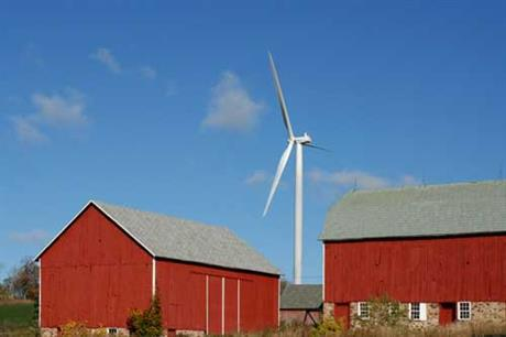 Alliant Energy's 67MW Cedar Ridge wind farm ising 41 Vestas turbines