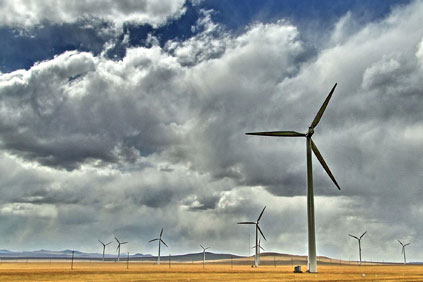 The accident happened at a Huaneng wind farm in Inner Mongolia