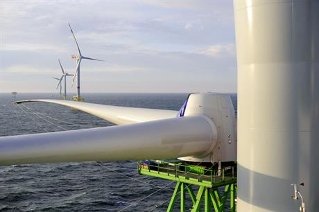 Offshore swing… Manufacturer average prices rise if offshore turbines are involved (pic: Repower/Alpha Ventus )