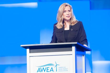 Incoming AWEA chair… Susan Reilly, RES Americas chief executive (pic:Steven E Purcell)