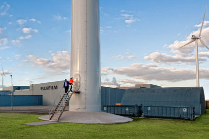 Turbines for business: A Dutch developer invested in Fujifilm's on-site wind park