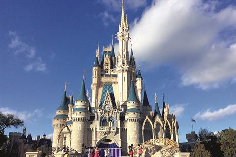 Not so magical: Disney World Florida covers more land than is available for wind development in Bavaria. The south German state does have some ornate castles