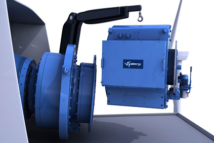 Winergy's HybridDrive is designed for both onshore and offshore turbines