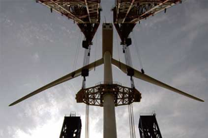 Getting bigger: Sinovel's SL 3MW series turbine