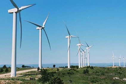 The 17.85MW wind farm at Névian/ Pic: La Compagnie du Vent / Djamel Dine Zitout