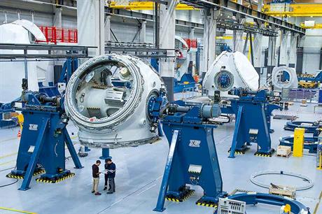 GE has a factory making Haliade 6MW turbines at St Nazaire