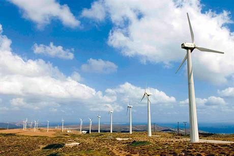 Encouraging signs… Greece has seen a number of turbine deals announced this year (pic: DEI-GR)