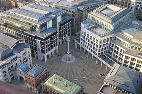 Paternoster Square… Three of 2013's wind IPOs were listed on the London Stock Exchange