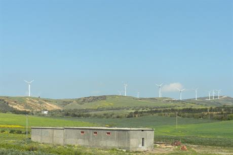 Steady increase�� Tunisia added another 54MW of Gamesa turbines to the Bizerte project in 2013, bringing the country's total capacity to 209MW