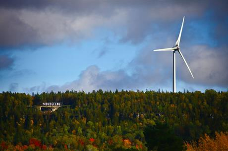 Milestone: The M'Chigeeng Mother Earth project is the first 100% First Nation-owned wind farm in Canada (pic:3G Energy)