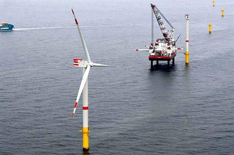 Under construction… The Nordsee One project was awarded under Germany's feed-in-tariff system (pic: Innogy)