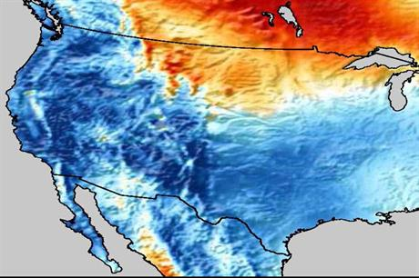 Lull…Winds in the first quarter of 2015 were the slowest for nearly 50 years in parts of the US (Source: Vaisala)