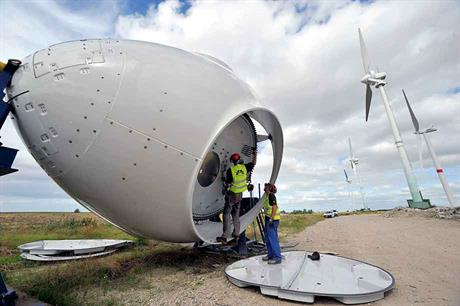 Growing sector… Repowering is likely to gain in importance in mature Italian wind market (pic: BWE/Tim Riediger)