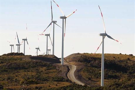 Wide reach… Gamesa is strong in emerging markets such as Mexico, Brazil and India, as well as China