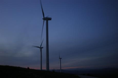 Prices can drop at night, when consumption is low and wind generation remains high.  Credit: germanborrillo