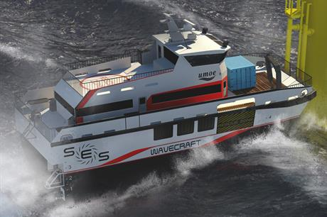 Attention needed… Research into crew transfer vessels is searching for safe yet cost-effective far-shore deep water access for O&M